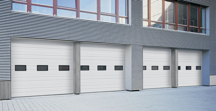 Hormann H-225P / H-224P Sectional Steel Doors & Commercial Doors by Hörmann