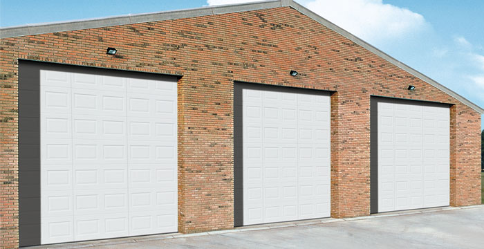 Hormann H-600V HDPE Sectional Doors