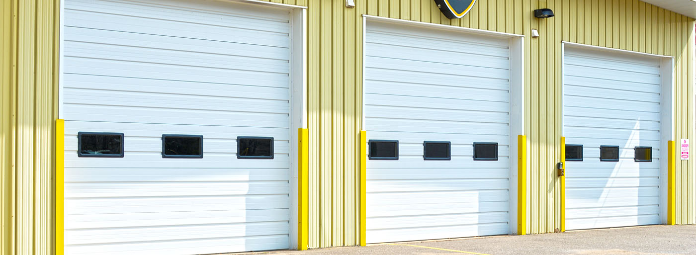Commercial Garage Doors With Windows Throughout Commercial Doors By Hrmann