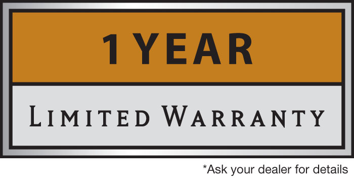 Label One Year Limited Warranty
